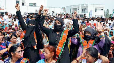 BJP plays the caste card knowing it won't get the Muslim vote
