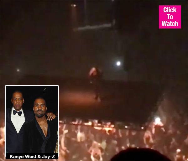 Kanye West Blasts Jay Z: Your BS With Apple Ruined 'Watch The Throne 2'