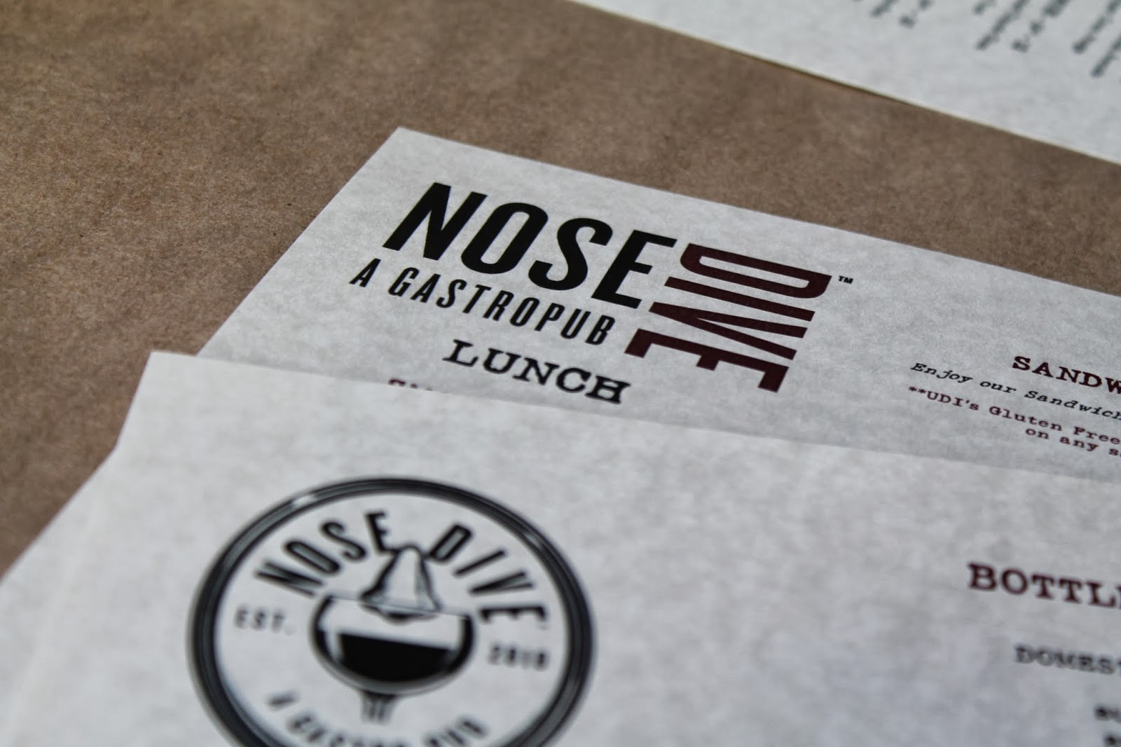 New chefs mean new menus for The Nose Dive