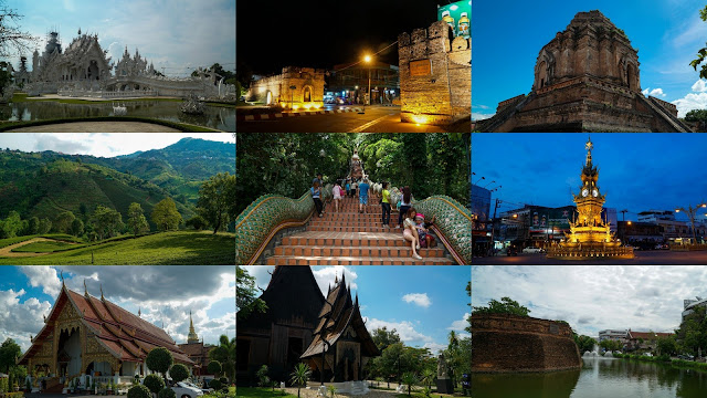 Travel Itinerary: Chiang Mai & Chiang Rai, Northern Thailand in 6 days