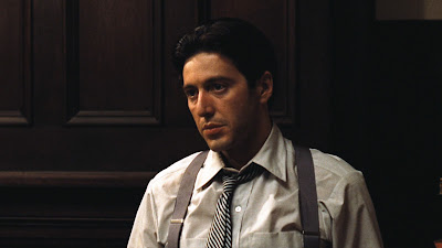 Al Pacino as Michael Corleone, Directed by Francis Ford Coppola, The Godfather
