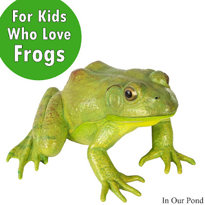 Gifts for Kids who Love Frogs- a Gift Guide from In Our Pond