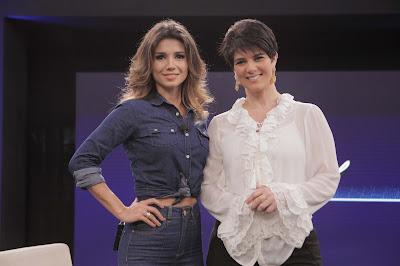 Paula Fernandes e Mariana Godoy - Crédito/Foto: Artur Igrecias/Divulgação RedeTV!