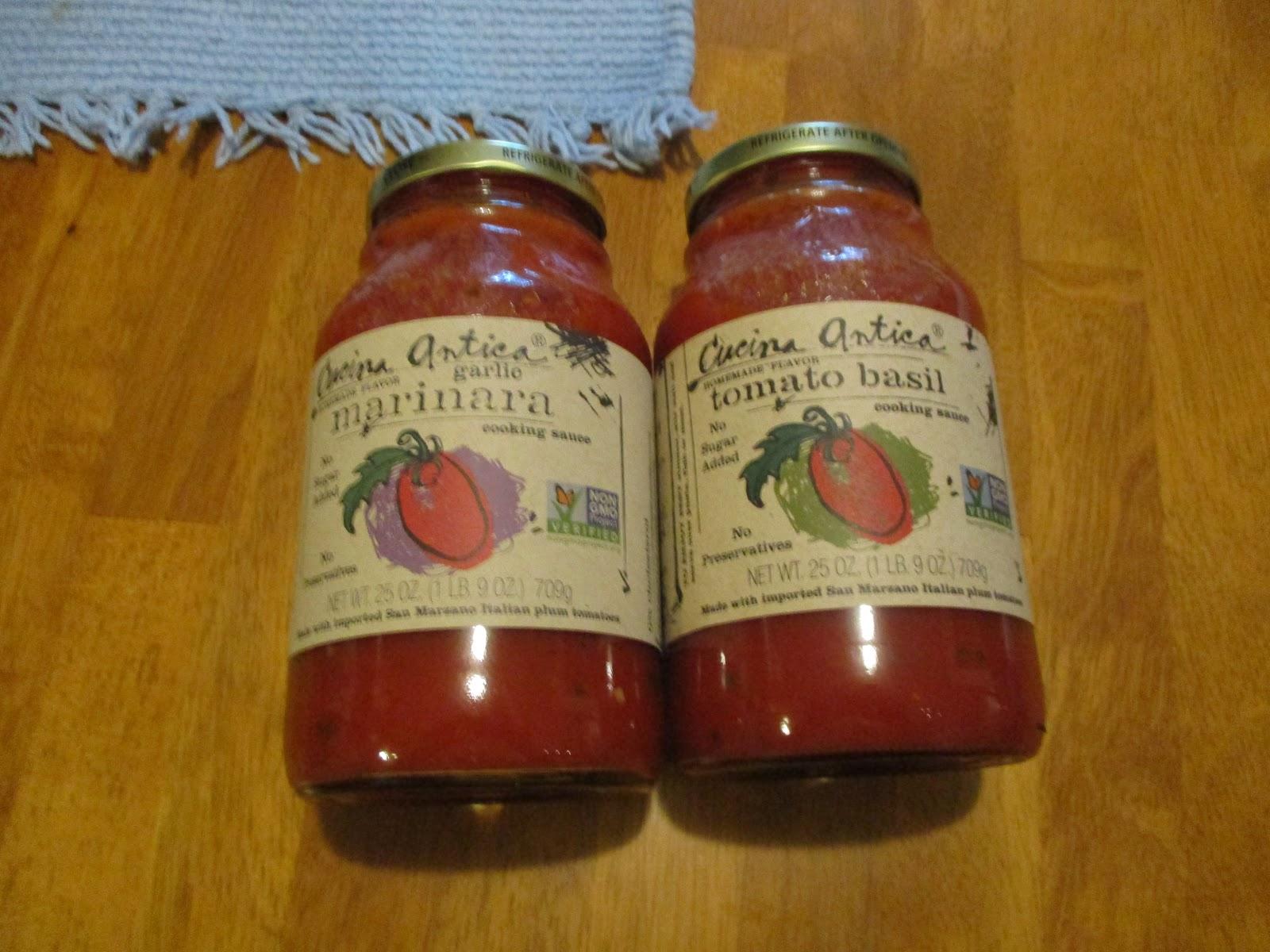 Missys Product Reviews Cucina Antica Tomato Basil Garlic Marinara