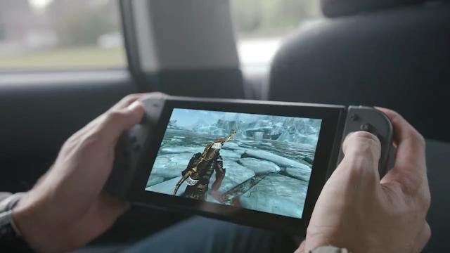Los juegos que vimos en el tráiler de Nintendo Switch no corrían directamente en la consola