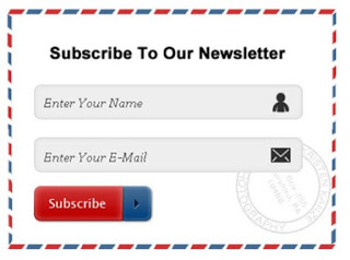 Email Subscription box widget