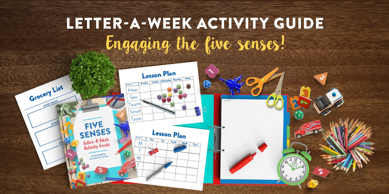 Recommended Reading: Letter-a-Week Activity Guide