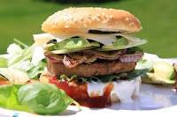 Delicioso Hambúrguer feito em casa