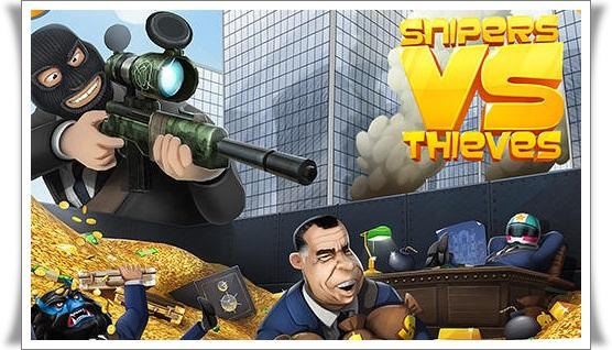 Snipers-vs-Thieves-Mod-Apk-Logo