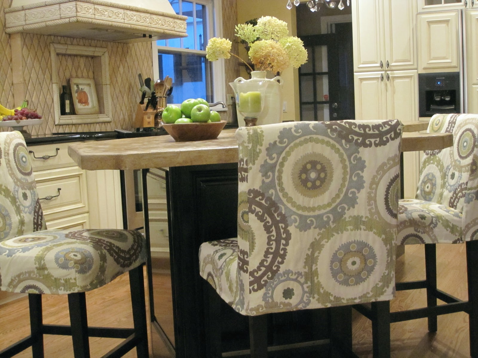 Simple Details Barstool Slipcover Reveal