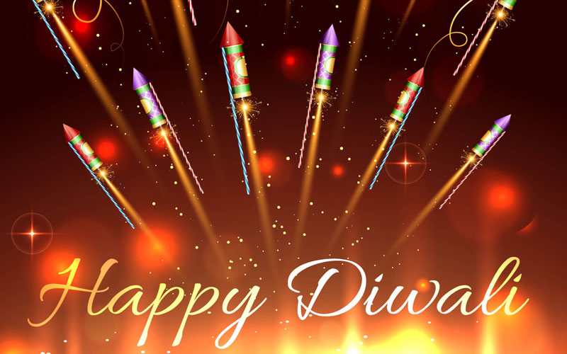 Happy Diwali (Deepavali) 2018 Greetings Messages In Hindi, English