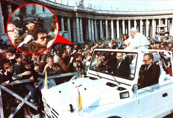 Ultimate Collection Of Rare Historical Photos. A Big Piece Of History (200 Pictures) - John Paul II assassination