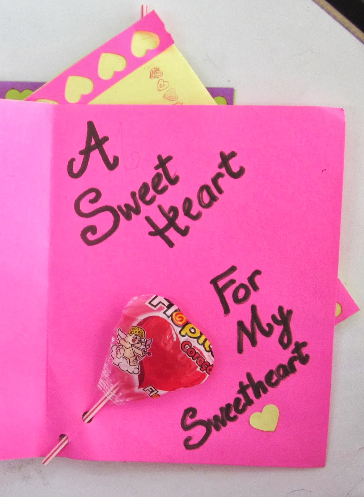 Valentine's Day Cards pink