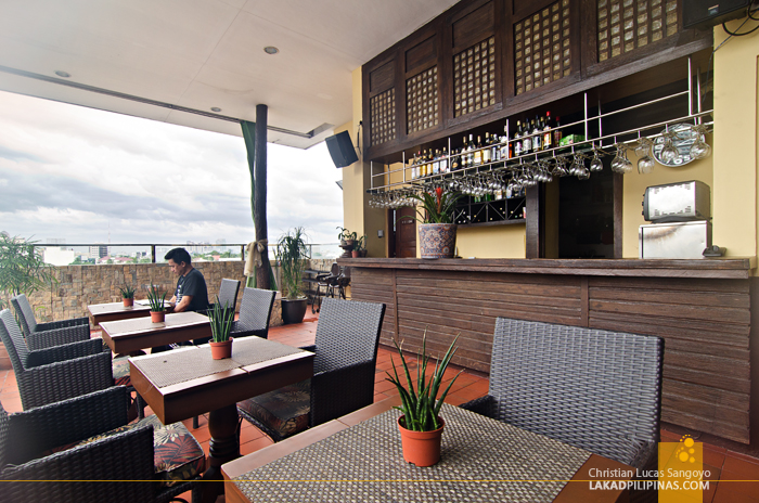 Cocoon Boutique Hotel Quezon City Rooftop Restaurant