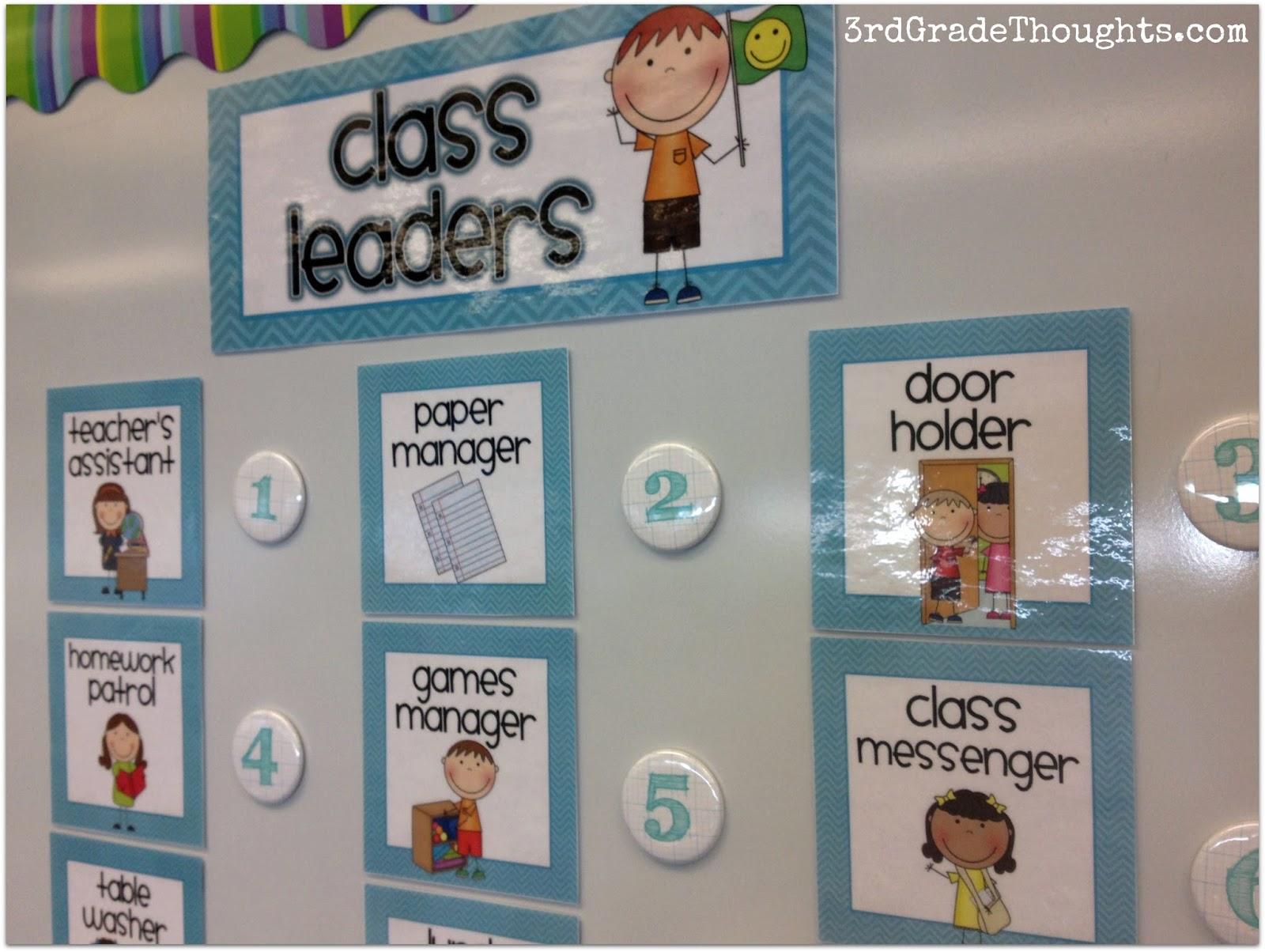 Classroom Job Class Greeter