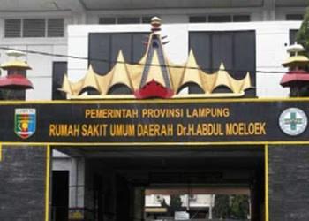 Alamat RSUD Dr. H. Abdul Moeloek Lampung