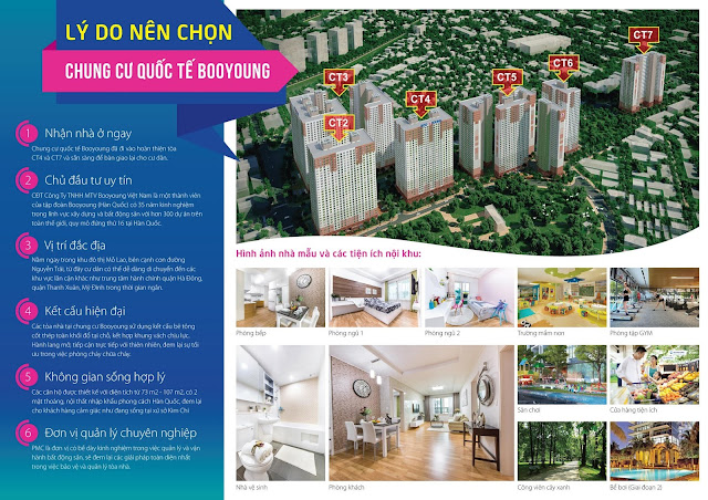 Dự án chung cư Booyoung