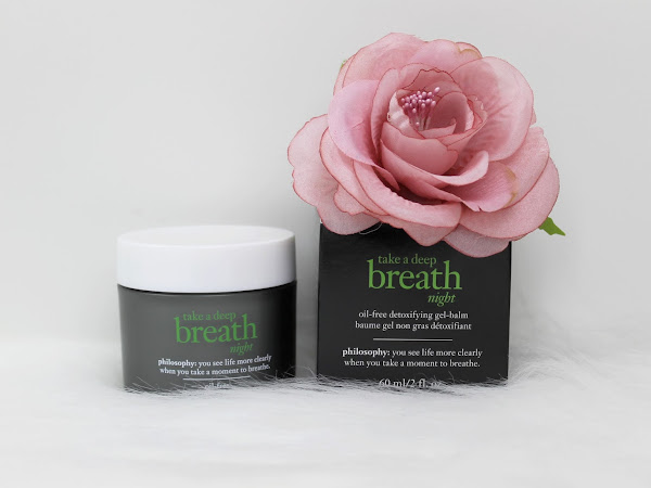 Philosophy - Take a deep breath night gel-balm