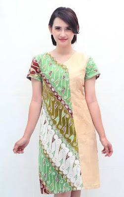 desain baju batik unik