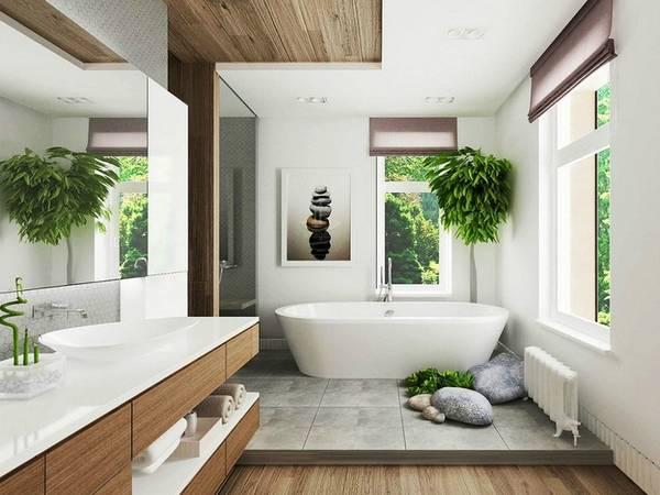фото коттеджа ванная