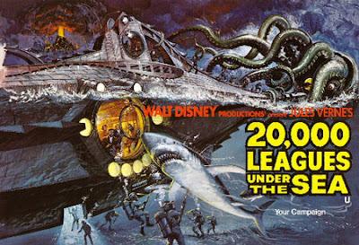 Denizler Altında 20000 Fersah Filmi