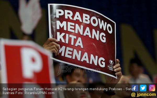 Makin Yakin Dukung Prabowo, Pentolan Honorer: Rezim Ini Tak Bisa Diharapkan