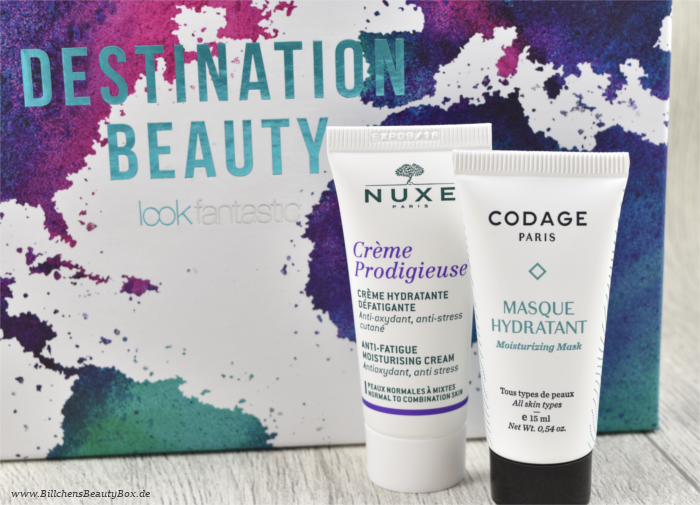 Lookfantastic Beauty Box Codage Nuxe