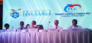 Speaking at the event, Mr. Amaratunga, Chairman of People's Insurance Limited