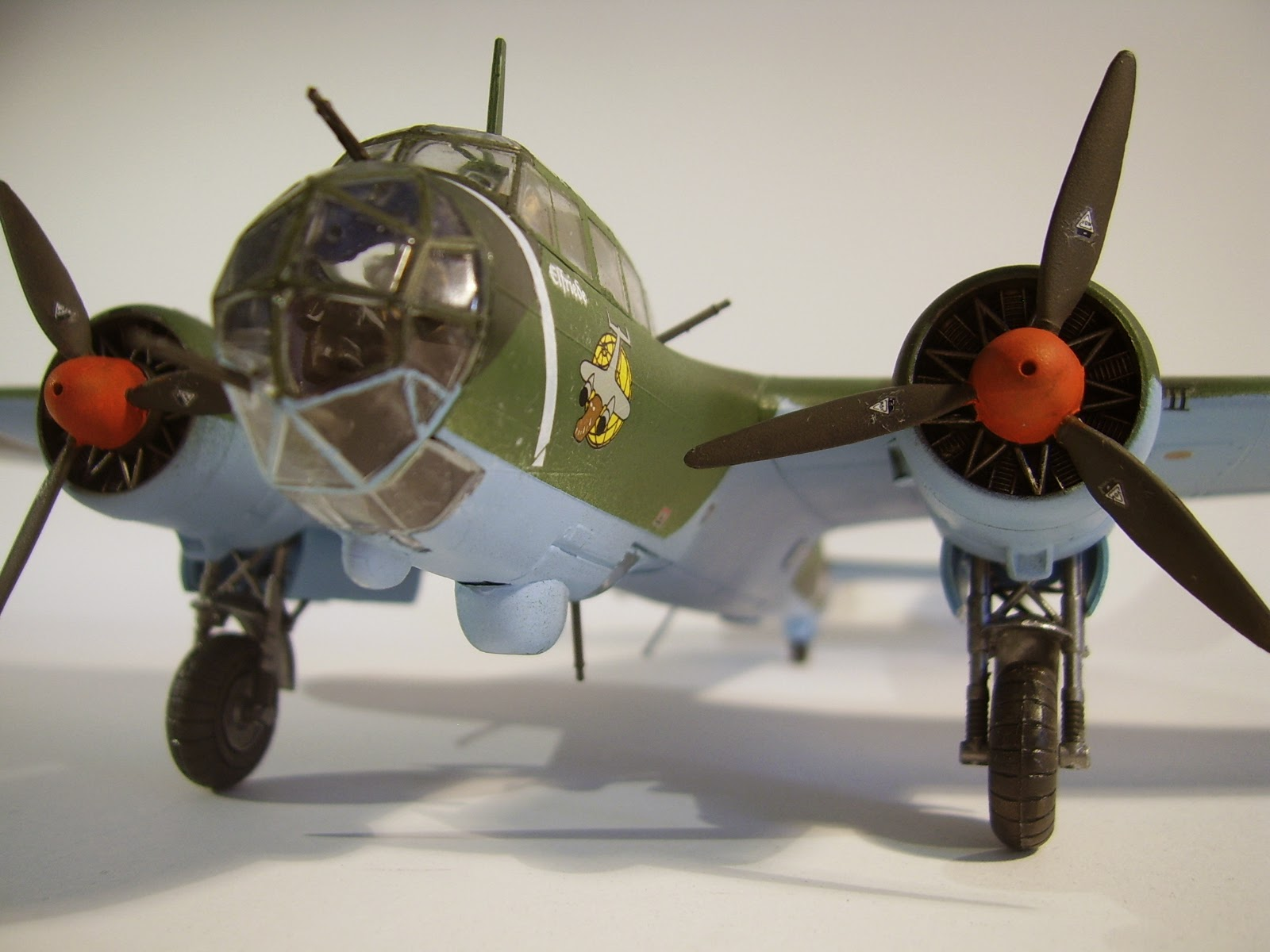 Mike's Modeling: Dornier Do 17 Z