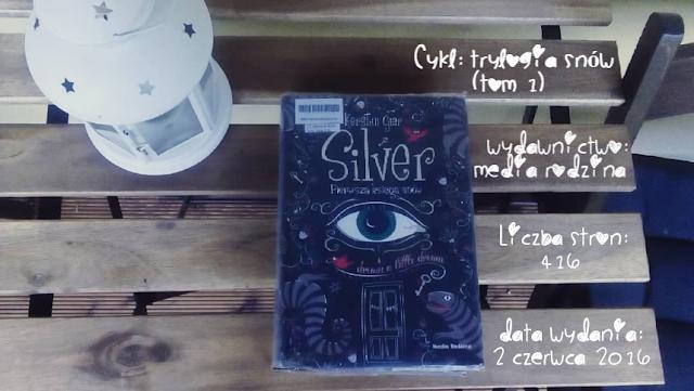 """""""Silver. Pierwsza księga snów"""" Kerstin Gier"""