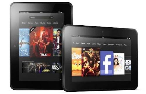 Kindle Fire HD 2 vs Nexus 7.2 vs iPad Mini 2013