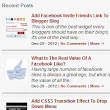 Recent Post Widget For Blogger With Thumbnails: How to Add Step By Step