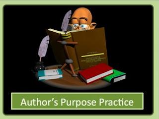 Author'-s Purpose Powerpoint- PIE'-ED by Deb Hanson   TpT