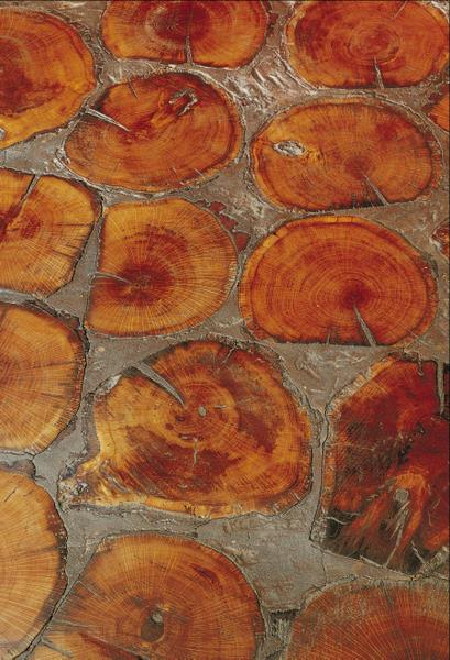 Cobbleblock Tree Rounds Flooring By Biger Juell The