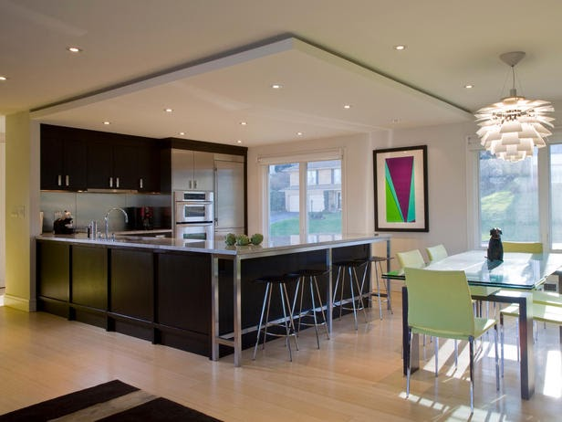 Designer Kitchen Fluorescent Lighting