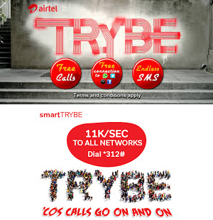 airtel smart trybe data plans and activation codes