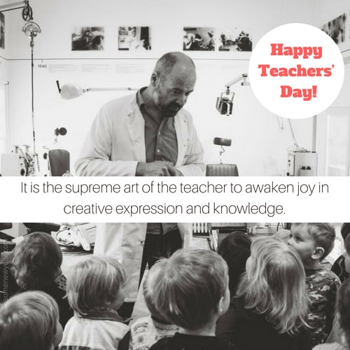 Happy Teacher's Day Quotes with Images