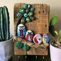 Manualidades con piedras pintadas