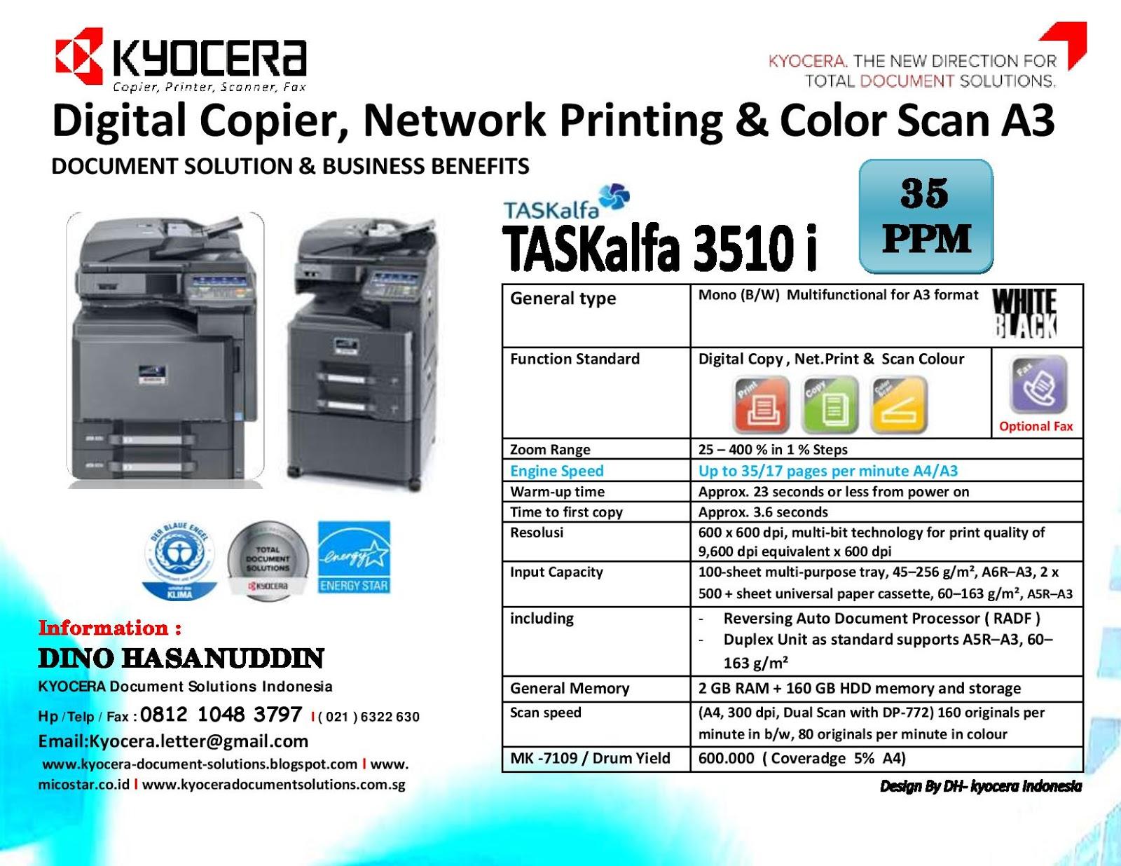Drivers for Kyocera TASKalfa 4550ci MFP Network Fax