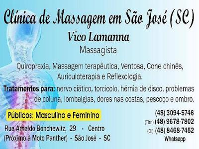 Medicina Tradicional Chinesa e Terapias Orientais - Clínica de Massagem Terapêutica, Massoterapia, Acupuntura, Quiropraxia, Reflexologia, Ventosa Terapia em São José - Centro (48) 3094-5746