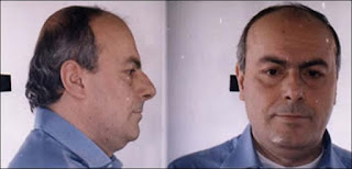 Paolo di Lauro's prison mug shot.  Before his arrest, the Camorra boss was rarely seen in public