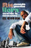 """Portada del libro """"Ríe cuando puedas, llora cuando lo necesites"""", de El Chojin"""