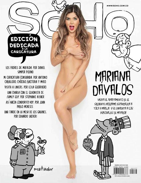Mariana Davalos SoHo Enero 2015