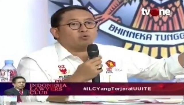 Fadli Zon kepada Polisi: Saya Melaporkan 8-9 Kasus UU ITE, Mana Tindaklanjutnya?
