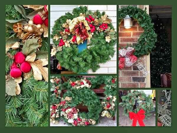 BOGO: New Christmas Wreaths & Garland - OKC Craigslist Garage Sales