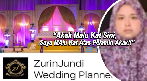 Ditangkap Kerana Menipu, Ini Jawapan Pemilik ZurinJundi, Wedding Planner Dari Neraka