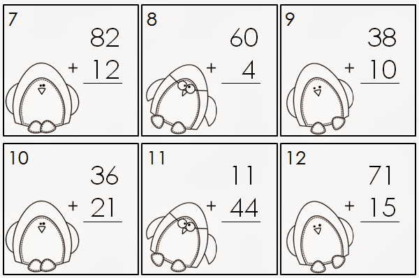 Number Names Worksheets double digit addition and subtraction without regrouping : Two Digit Subtraction With Regrouping Color By Number ...