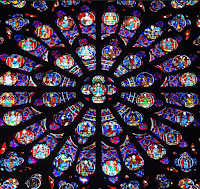 rose window, chartres, time travel fiction