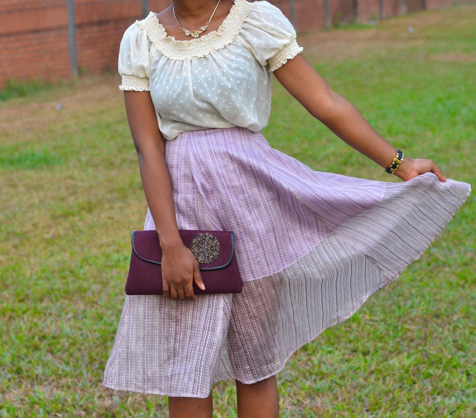 Nigerian Fashion Blogger outfit pose