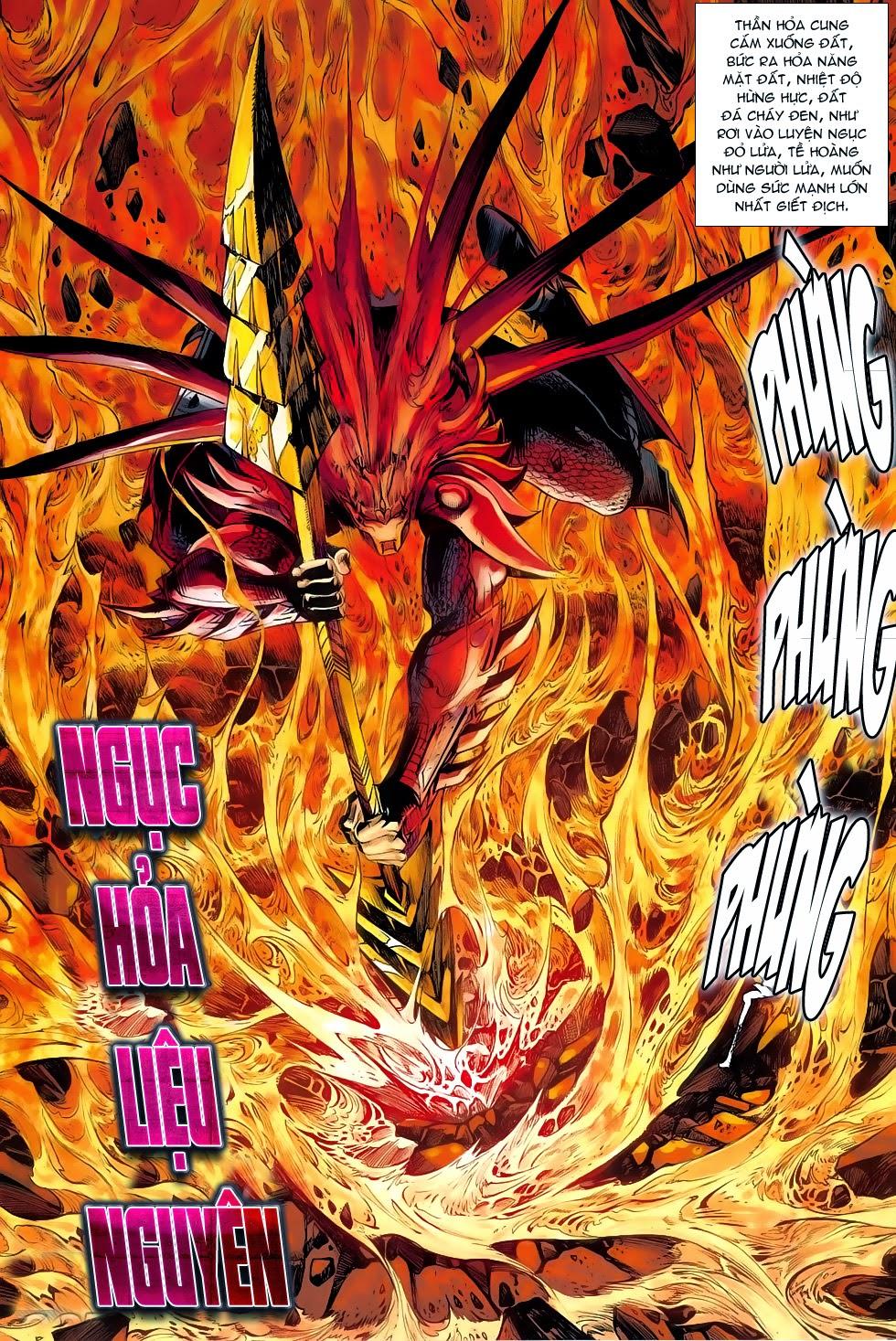 Chiến Phổ chapter 5: lôi hỏa kinh thiên chiến trang 28